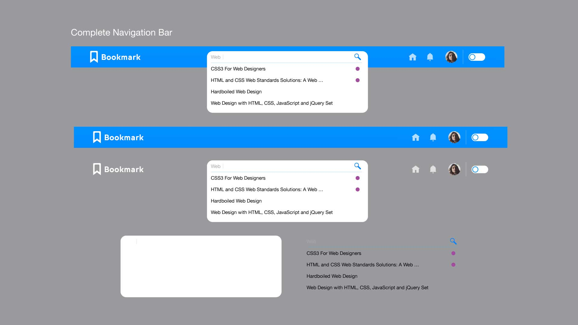 Bookmark - Design System Navigation