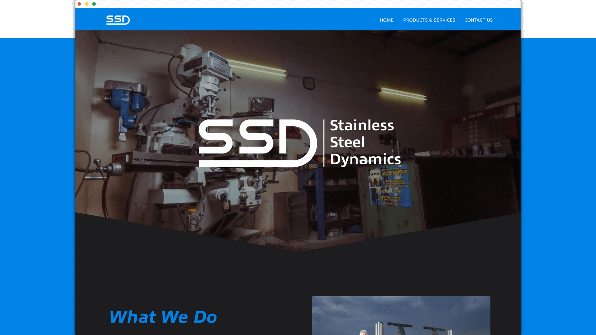 Stainless Steel Dynamics Website